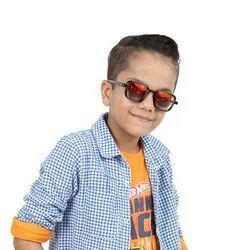 Red Party Box Boys Kids Plastic Sunglasses