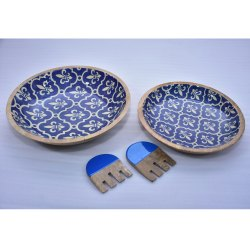 CII-807 Wooden Bowl Set