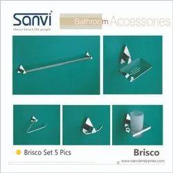 SANVI Cp Brisco设置浴室配件,尺寸:可调