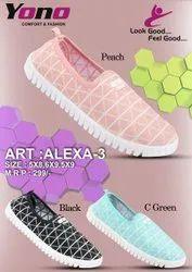 Yono Knitting Ladies Casual Shoes
