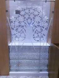 Pure White Home Decor Marble Mandir