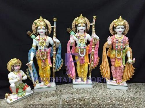 Makrana Marble Ramdarbar Statue