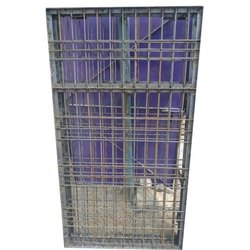 Galvanized Iron Window Grill, Rectangle