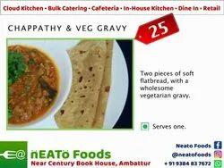 Indian Chappathy & Veg Gravy, Chennai, Live Counters