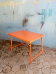 MS Powder Coated Folding Table
