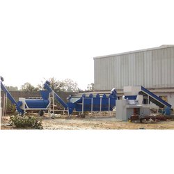 High Speed Extrusion PET Plastic Waste Washing Machine