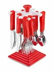 Duke Spoon Stand With 24 Piece