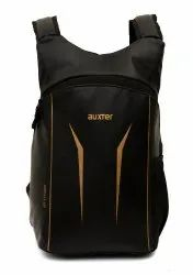 Auxter Black Coaching Backpack, Number Of Compartments: 1, Bag Capacity: 15 Litre