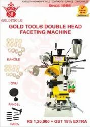 Horizontal And Vertical Combined Faceting Machine, For Jewelry