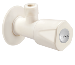 Idoos High Pressure PTMT Angle Valve, For Water, Valve Size: 15 Mm