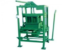 Manual Hollow Block Machine Double Stroke