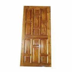 81 x 38 Inch Teak Wood Door, For Window