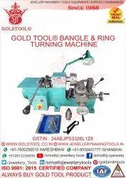 Gold Tool Bangle Ring Turning Machine