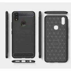 TPU Black Mobile Back Cover
