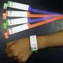 Color Plastic Patient Identification Wristband