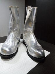 ALUMINISED BOOTS FOR HEAT RESISTANCE