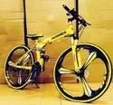 Yellow Hummer Foldable Cycle