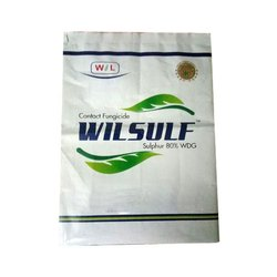 Plastic Laminated White Wilsulf Printed Packaging Bag, Capacity: 1 Kg