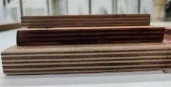 Brown anagha plywood BWR plywood 8mm, Size: 8x4 Feet