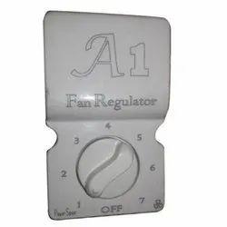 A1 White Open Surface Fan Regulator