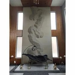Odyssey Topographic 150mm Stone Mural