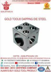 Gold Tool Steel Doming Block