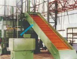 Waste Cotton Baling Machine - Revolving Type (Lattice Conveyor)
