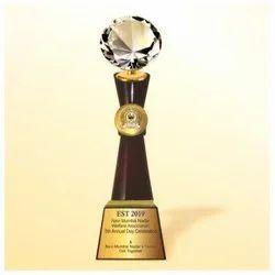WM 9772 Flourish New Diamoand Trophy