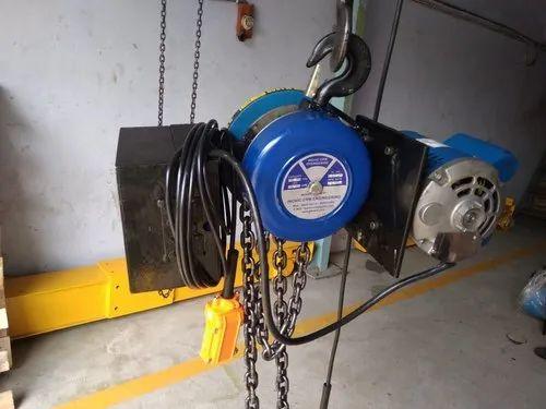 Electric Chain Hoist Single Phase