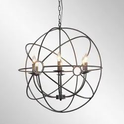 Cage Ring Chandelier