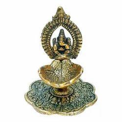 Golden Showpieces Ganesha, Packaging Type: 100