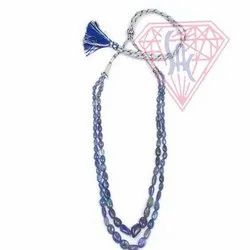 Natural Tanzanite Gemstone Beads Necklace