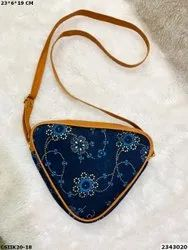 New Stylish Ikkat Print Sling Bags