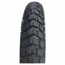Three Wheeler Tube Type 90/90-12 Kohinoor E-Rickshaw Tyre, Size: 12 Inch Diameter