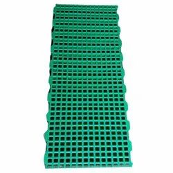 Plastic Poultry Slats Flooring, For Farm, Thickness: 2 Mm