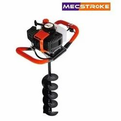 Mecstroke Heavy Duty 52CC 2 Stroke Petrol Post Hole Earth Digger