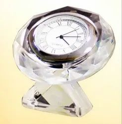 DT 124  Crystal Clock Award Trophy