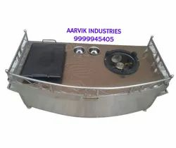Stainless Steel Catering paw bhaji counter