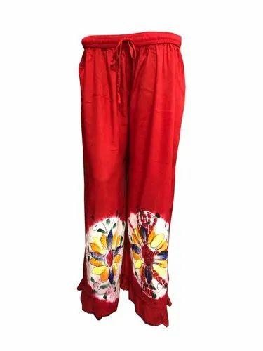 Ladies Palazzo Pant Pajama