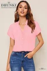 Ofira Fashion Half Sleeve Girls Fancy T Shirt
