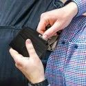 Men's Card holder case - Black
