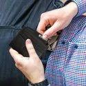 Men's Card holder case - Black