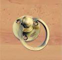 KB0001 Brass Round Light Kadi Knob