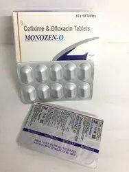 Cefixime 200mg Ofloxacin 200mg