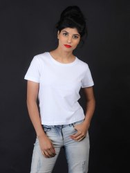 women white t shirt