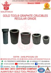 Gold Tool Graphite Crucible Regular Grade
