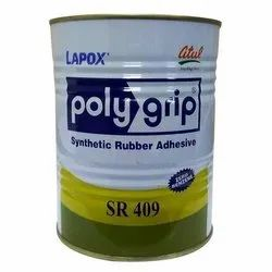 Lapox Polygrip SR 409 Synthetic Rubber Adhesive, 5 L, Tin Can
