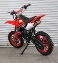 Red 50cc Super Kids Dirt Bike