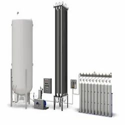 Liquid Oxygen Gas Filling Station