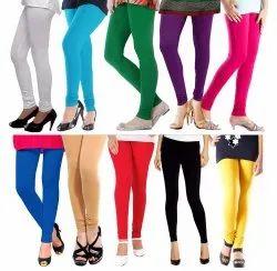 Ladies Cotton Plain Legging